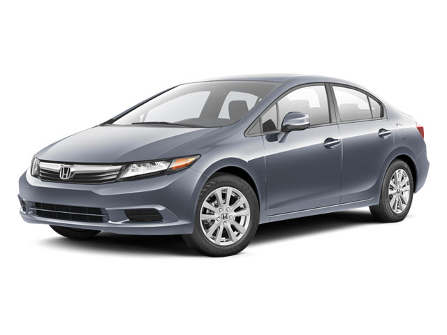 2012 Honda Civic Sdn Prices And Values Sedan 4D EX Side Front View