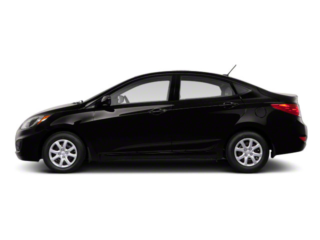 2012 Hyundai Accent Prices and Values Sedan 4D GLS side view