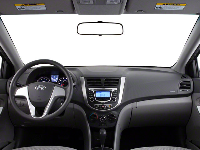 2012 Hyundai Accent Prices and Values Sedan 4D GLS full dashboard