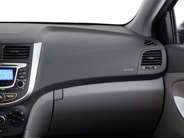 2012 Hyundai Accent Prices and Values Sedan 4D GLS passenger's dashboard