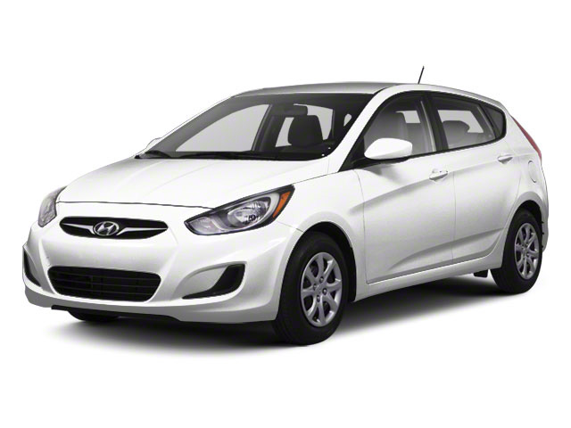 2012 Hyundai Accent Prices and Values Hatchback 5D SE side front view