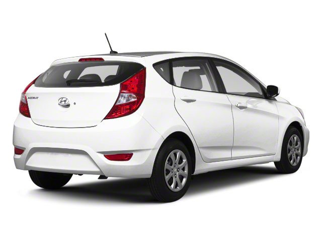 2012 Hyundai Accent Prices and Values Hatchback 5D SE side rear view