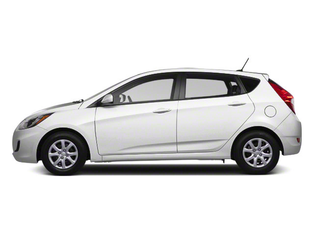 2012 Hyundai Accent Prices and Values Hatchback 5D SE side view