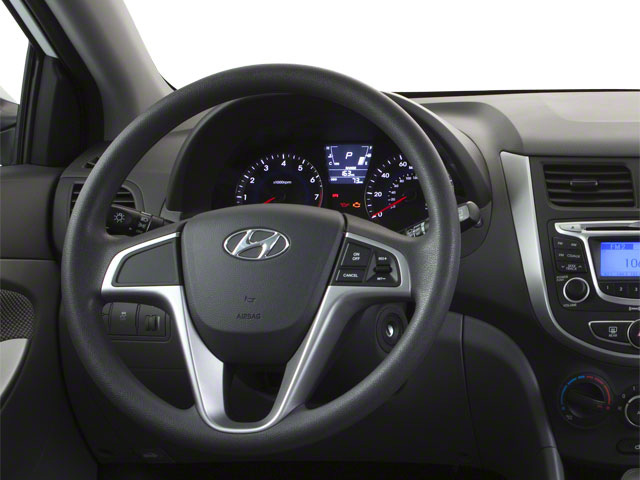 2012 Hyundai Accent Prices and Values Hatchback 5D SE driver's dashboard