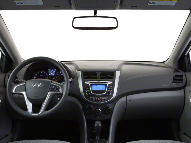 2012 Hyundai Accent Prices and Values Hatchback 5D SE full dashboard