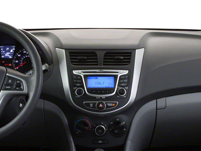 2012 Hyundai Accent Prices and Values Hatchback 5D SE center dashboard
