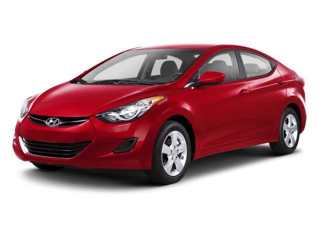 2012 Hyundai Elantra Prices and Values Sedan 4D GLS side front view