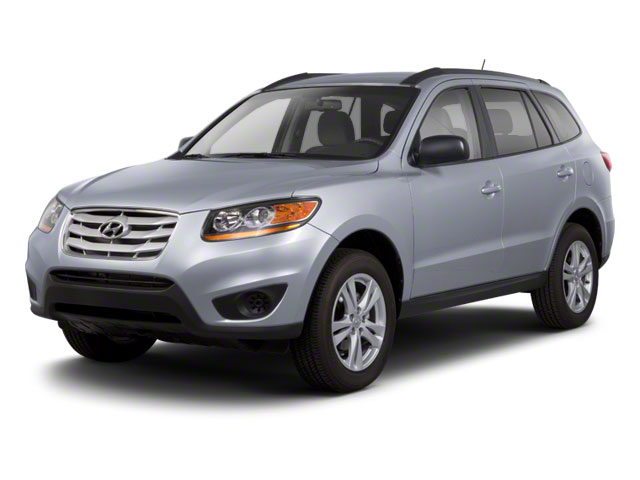 2012 Hyundai Santa Fe Prices and Values Utility 4D GLS 4WD side front view