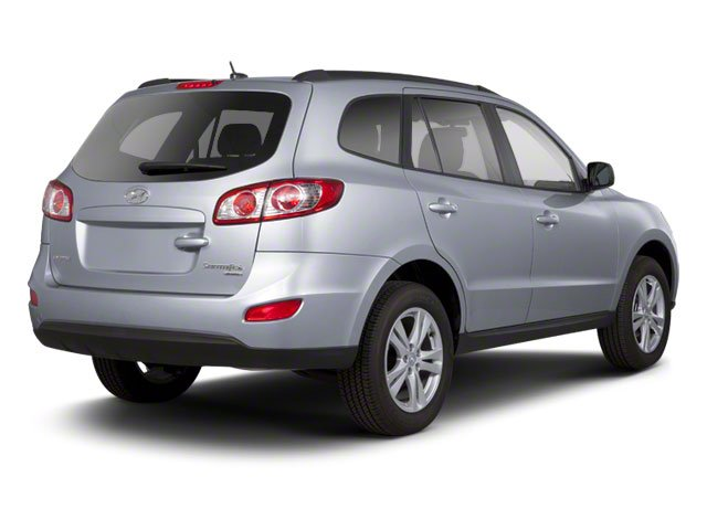 2012 Hyundai Santa Fe Prices and Values Utility 4D GLS AWD side rear view