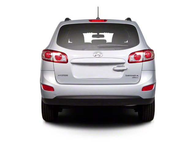 2012 Hyundai Santa Fe Prices and Values Utility 4D GLS 2WD rear view