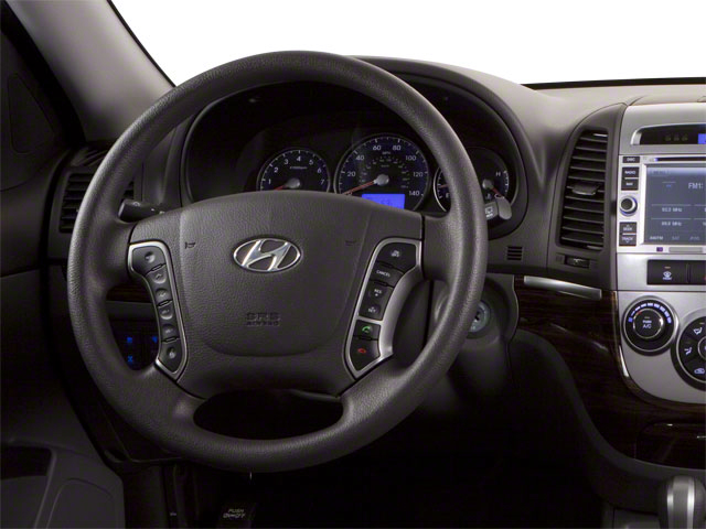 2012 Hyundai Santa Fe Prices and Values Utility 4D GLS 2WD driver's dashboard