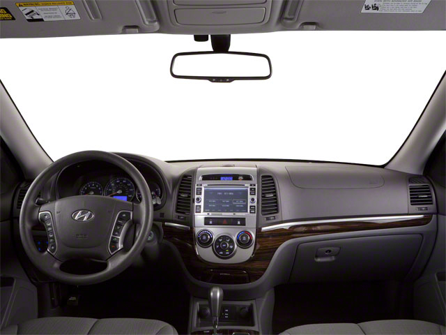 2012 Hyundai Santa Fe Prices and Values Utility 4D GLS 4WD full dashboard