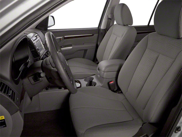 2012 Hyundai Santa Fe Prices and Values Utility 4D GLS 2WD front seat interior