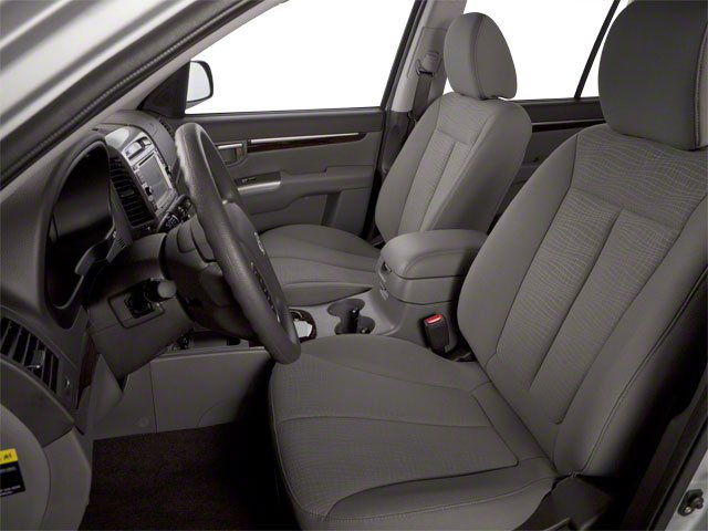 2012 Hyundai Santa Fe Prices and Values Utility 4D GLS 4WD front seat interior