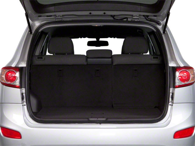 2012 Hyundai Santa Fe Prices and Values Utility 4D GLS 4WD open trunk