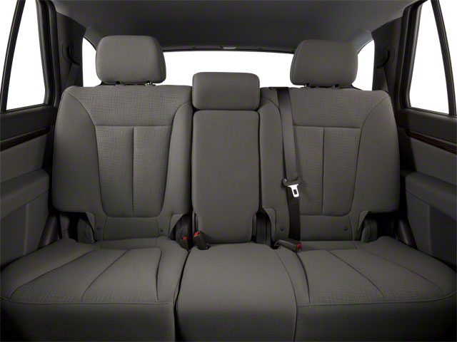 2012 Hyundai Santa Fe Prices and Values Utility 4D GLS 2WD backseat interior