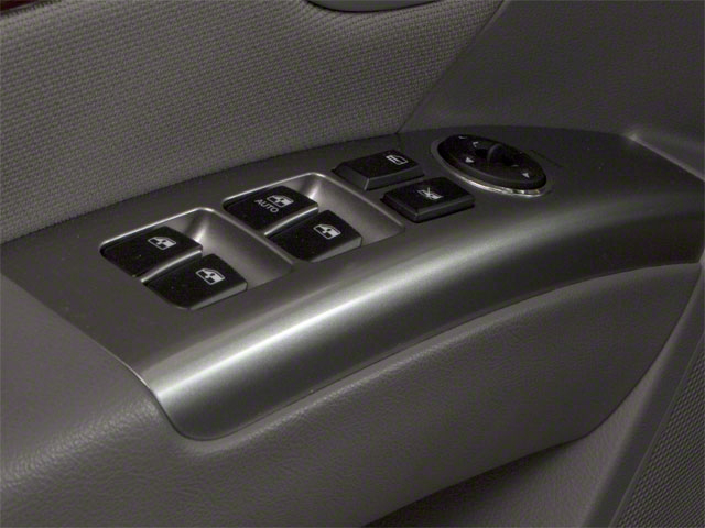 2012 Hyundai Santa Fe Prices and Values Utility 4D GLS AWD driver's side interior controls
