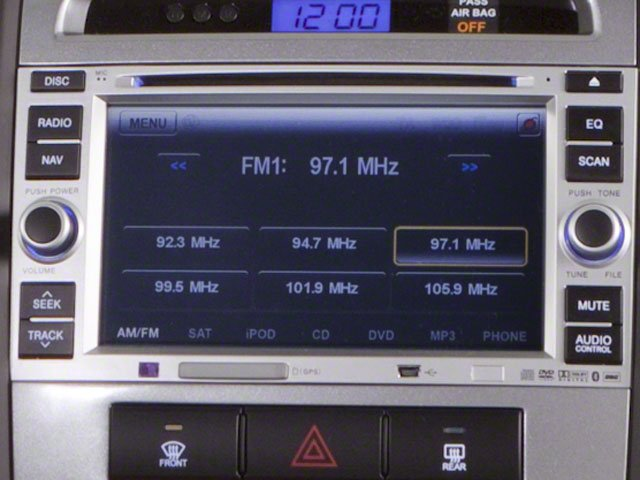 2012 Hyundai Santa Fe Prices and Values Utility 4D GLS 4WD navigation system