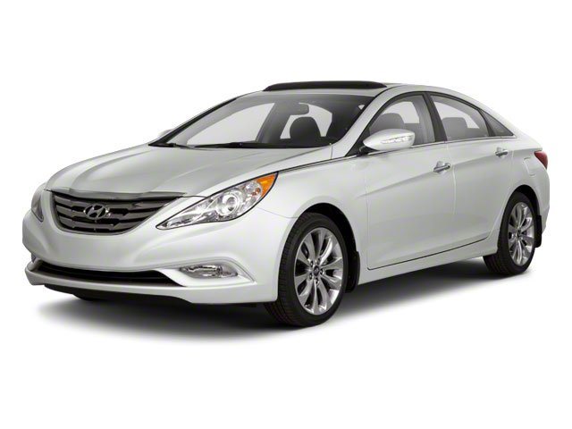 2012 Hyundai Sonata Prices and Values Sedan 4D Limited side front view