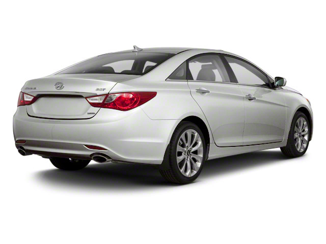 2012 Hyundai Sonata Prices and Values Sedan 4D Limited side rear view