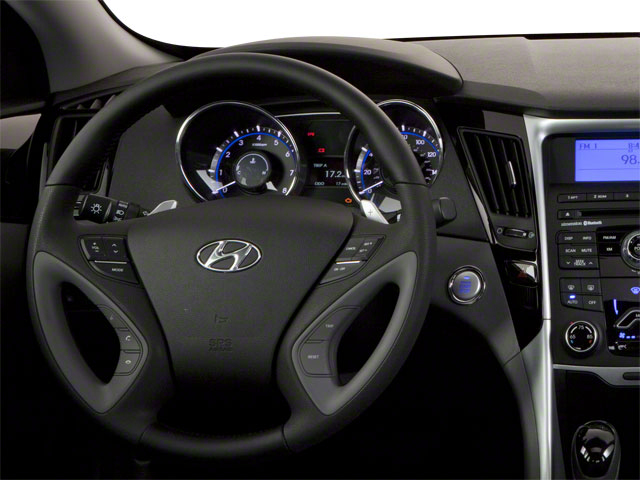 2012 Hyundai Sonata Prices and Values Sedan 4D Limited driver's dashboard