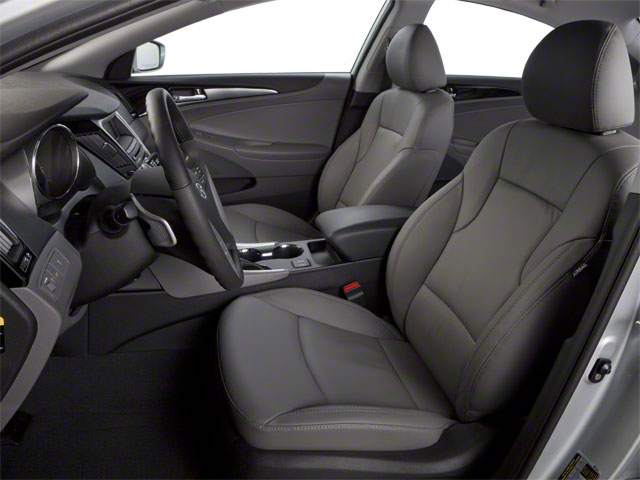 2012 Hyundai Sonata Prices and Values Sedan 4D Limited front seat interior