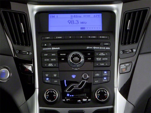 2012 Hyundai Sonata Prices and Values Sedan 4D Limited stereo system