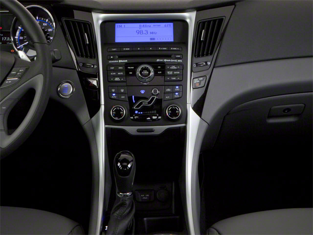2012 Hyundai Sonata Prices and Values Sedan 4D Limited center console