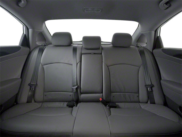 2012 Hyundai Sonata Prices and Values Sedan 4D Limited backseat interior