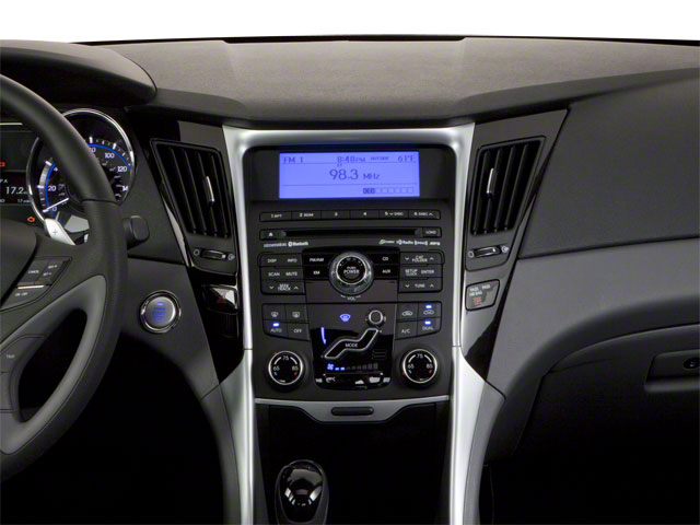 2012 Hyundai Sonata Prices and Values Sedan 4D Limited center dashboard