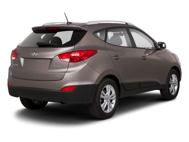 2012 Hyundai Tucson Prices and Values Utility 4D Limited 2WD side rear view