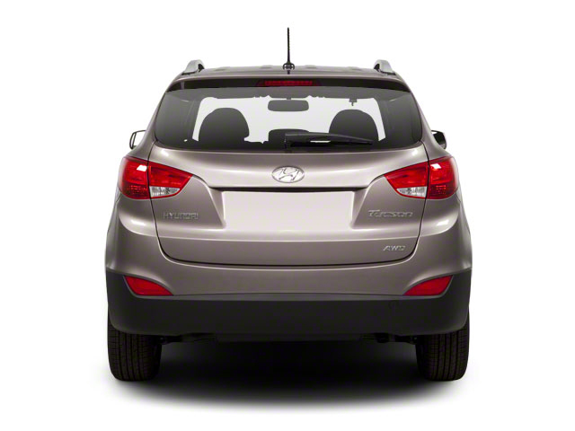 2012 Hyundai Tucson Prices and Values Utility 4D Limited 2WD rear view