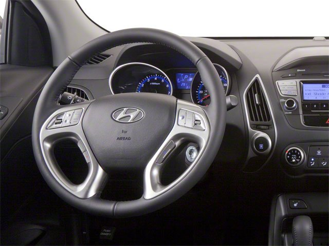 2012 Hyundai Tucson Prices and Values Utility 4D Limited 2WD driver's dashboard