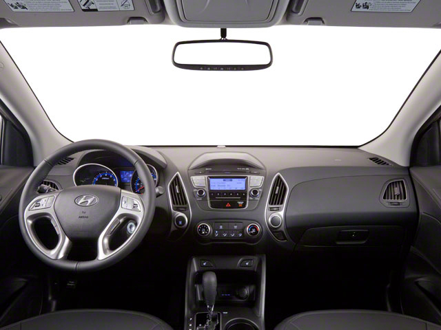 2012 Hyundai Tucson Prices and Values Utility 4D Limited 2WD full dashboard