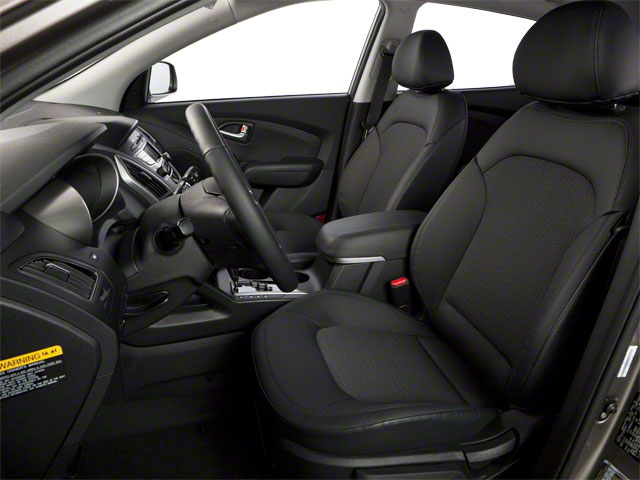 2012 Hyundai Tucson Prices and Values Utility 4D Limited 2WD front seat interior