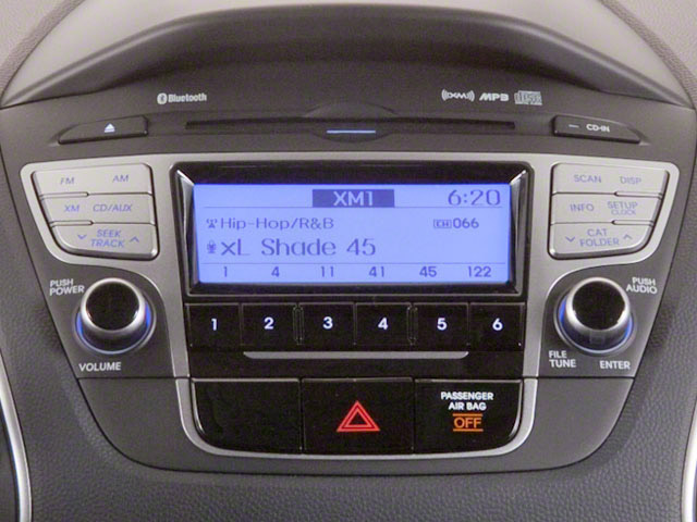 2012 Hyundai Tucson Prices and Values Utility 4D Limited 2WD stereo system