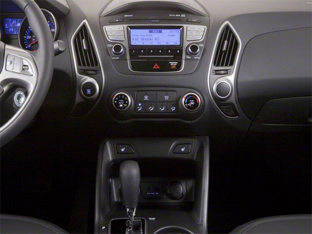 2012 Hyundai Tucson Prices and Values Utility 4D Limited 2WD center console