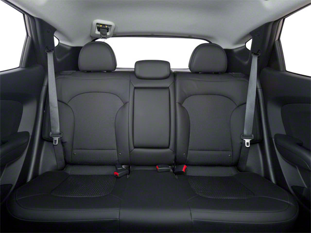 2012 Hyundai Tucson Prices and Values Utility 4D Limited 2WD backseat interior