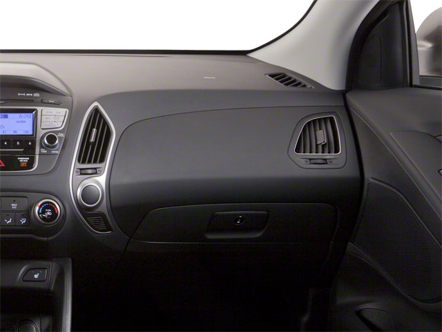 2012 Hyundai Tucson Prices and Values Utility 4D Limited 2WD passenger's dashboard