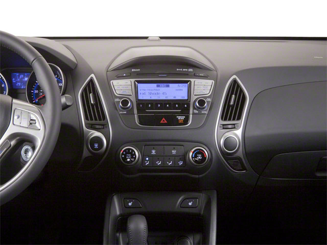 2012 Hyundai Tucson Prices and Values Utility 4D Limited 2WD center dashboard
