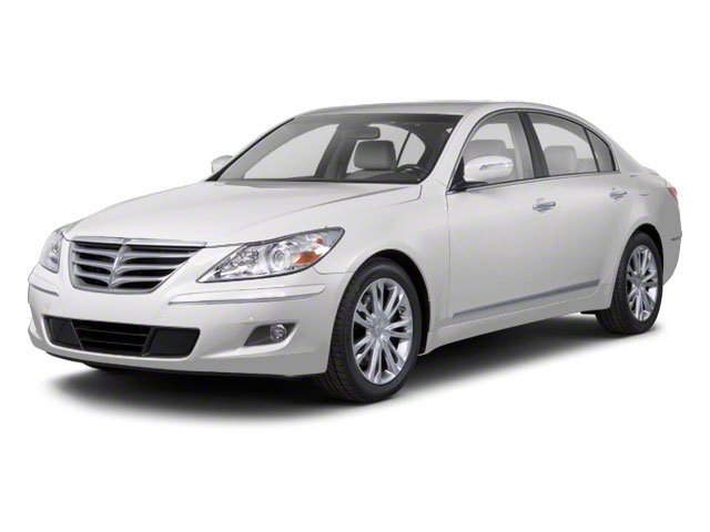2012 Hyundai Genesis Prices and Values Sedan 4D side front view