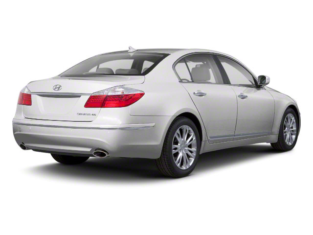 2012 Hyundai Genesis Prices and Values Sedan 4D side rear view
