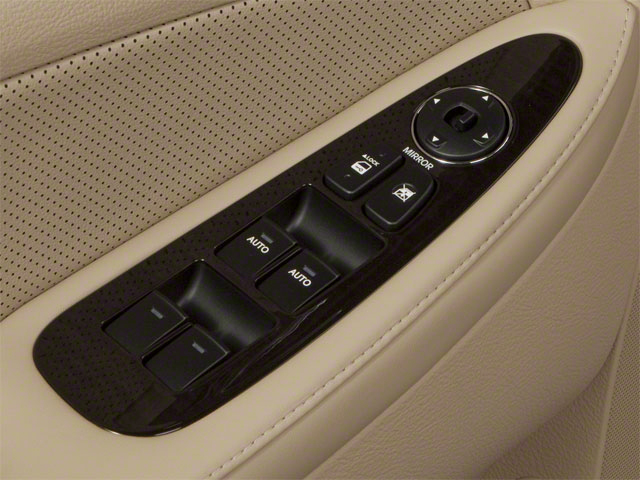 2012 Hyundai Genesis Prices and Values Sedan 4D driver's side interior controls