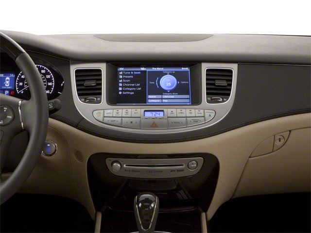2012 Hyundai Genesis Prices and Values Sedan 4D center dashboard