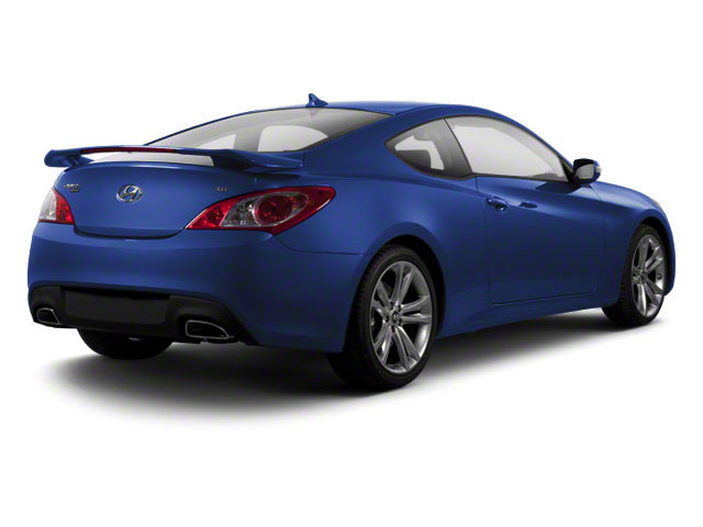 2012 Hyundai Genesis Coupe Prices and Values Coupe 2D R-Spec side rear view