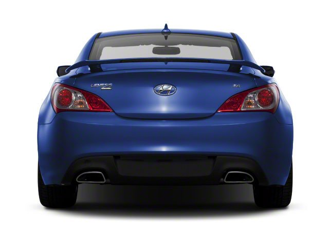 2012 Hyundai Genesis Coupe Prices and Values Coupe 2D R-Spec rear view