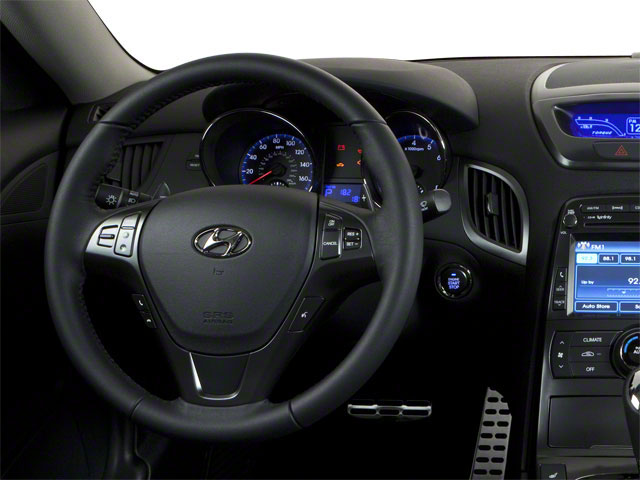 2012 Hyundai Genesis Coupe Prices and Values Coupe 2D R-Spec driver's dashboard