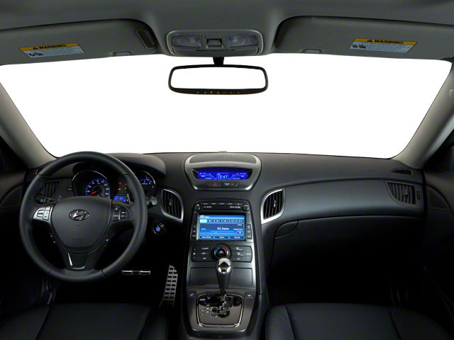 2012 Hyundai Genesis Coupe Prices and Values Coupe 2D R-Spec full dashboard