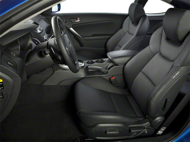 2012 Hyundai Genesis Coupe Prices and Values Coupe 2D R-Spec front seat interior