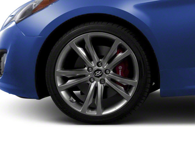 2012 Hyundai Genesis Coupe Prices and Values Coupe 2D R-Spec wheel